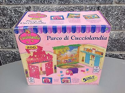1994 Kenner Littlest Pet Shop Zoo Carry Case  Parco Di Cucciolanda# Nib Pink Box