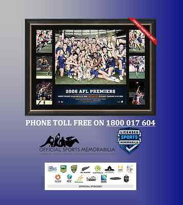 West Coast Eagles 2006 Premiership Glory Tribute – Framed $199 - NEW RELEASE