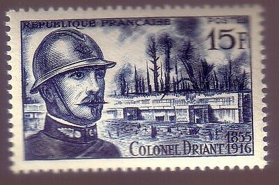 France * Neuf *** Colonel DRIANT - N° 1052 *** 1956