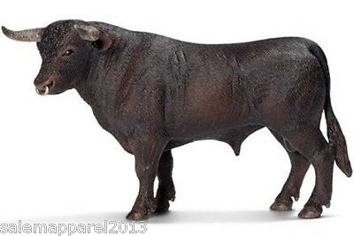 Schleich 13722 Black Bull - Hand Painted Figurine - BRAND NEW