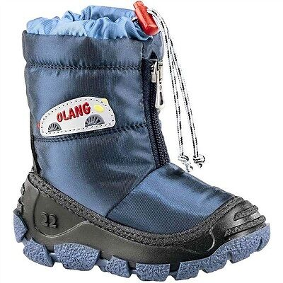 Kid's Olang Eolo Winter Blue Boots UK 3/3.5