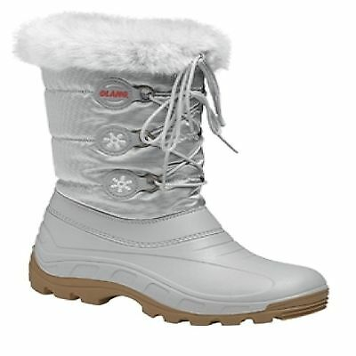 Kid's Olang Patty Winter Argento Silver Boots UK 2.5/3.5