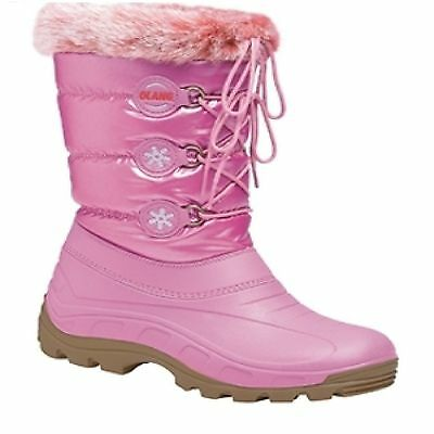 Kid's Olang Patty Winter Lampone Pink Boots UK 11/11.5