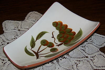 Stangl Pottery USA - Orchard Song - 11 3/8-inch Relish or Celery Dish