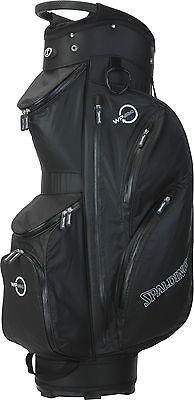 Spalding WP360 Waterproof Cartbag, black - NEU - Preishammer! - UVP 229,95