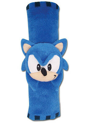 """NEW Official 9"""" Classic Sonic Plush Seat Belt Pad (GE-6339) Sonic the Hedgehog"""