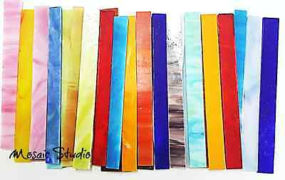Stained Glass Sticks - 15x150mm - x 30pc