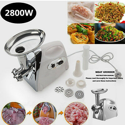 """""""BRAND NEW"""" S/STEEL Home/COMMERCIAL ELECTRIC MEAT MINCER JPC"""