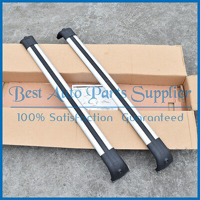 Roof rack Bar Cross Kit For Land Rover Discovery LR3 & LR4 2005-2016 silver