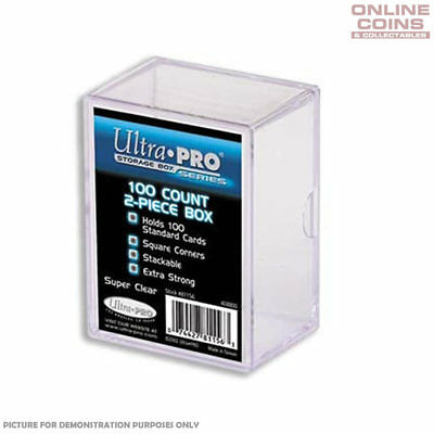 Ultra-Pro 100 Count Standard Trading Card Storage Box