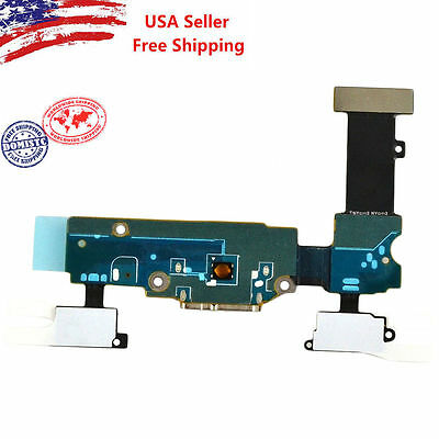 NEW USB Charging Port Dock Connector Mic Flex Cable For Samsung Galaxy S5 G900T