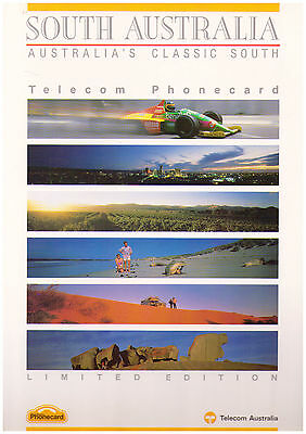 Telecom Phonecard Pack - South Australia - Limited Edition 6 Card Pack
