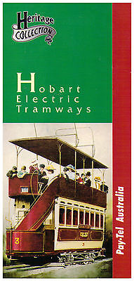 Pay.Tel 3 Phone Card pack - Hobart Electric Tramways - Heritige Collection Mint