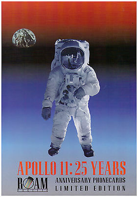 Telecom SPECIMEN Phonecard Pack - Apollo 11: 25 Years - Limited Edition