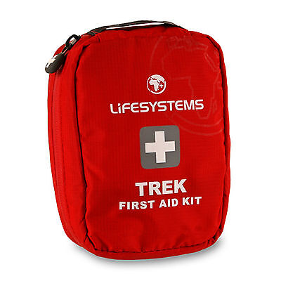 Lifesystems Trek First Aid Kit 22 Item for D of E (Does NOT include Paracetamol)