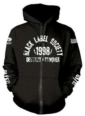 Black Label Society 'SDMF' Zip Up Hoodie  - NEW & OFFICIAL!