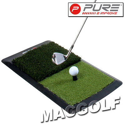 "Pure2improve Golf Trainingshilfe ""Hitting Mat"" Kostenloser Blitzversand"