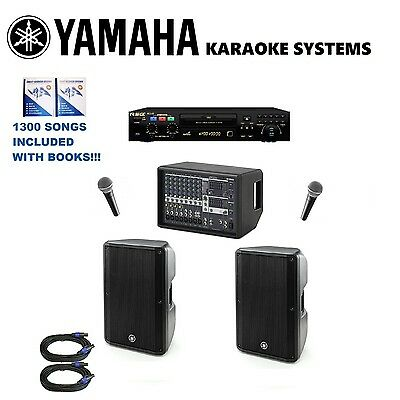 RSQ NEO 22 PRO KARAOKE PLAYER MACHINE YAMAHA CBR SPEAKERS MIXER System EMX512SC