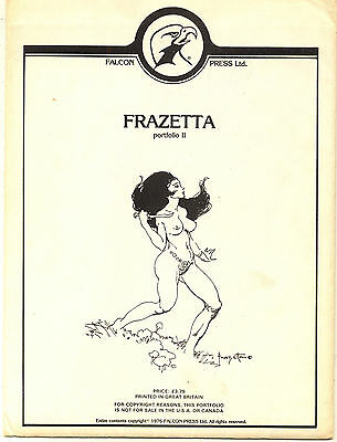 Frazetta Portfolio II (1976 Falcon Press) Sealed