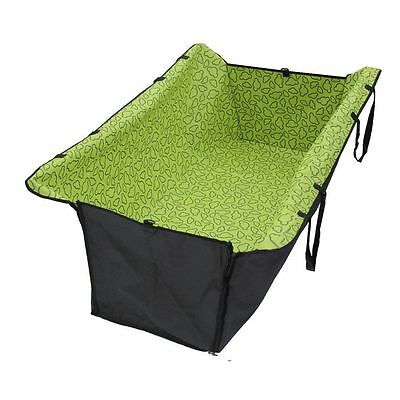 Green Pet car Seat Cover Dog Cat Seat Cover Safety Waterproof Car Hammock new