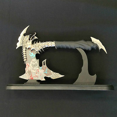 Fantasy Dragon Axe with Stand