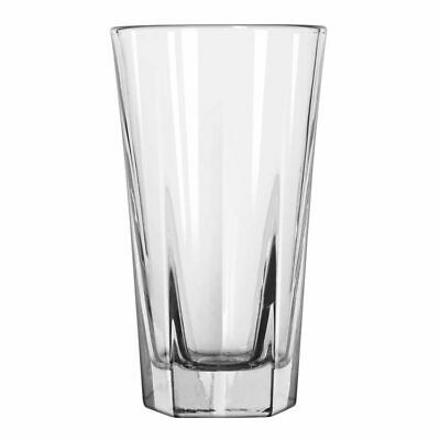 12x Hi-Ball Glass 296mL Libbey Inverness Tumbler Cocktail Beverage Mixed Drink