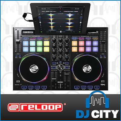 BeatPad Reloop 2-Channel DJ MIDI / iOS Controller for IPAD and Android