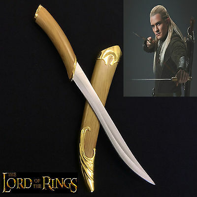 Lord of the Rings/The Hobbit Legolas Elven miniature Fighting Knife with scabbar