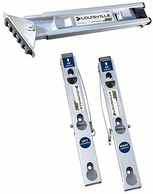 Louisville Ladder Levelok Kit - One Leveler + Two Mounting Brackets LP-2220-01