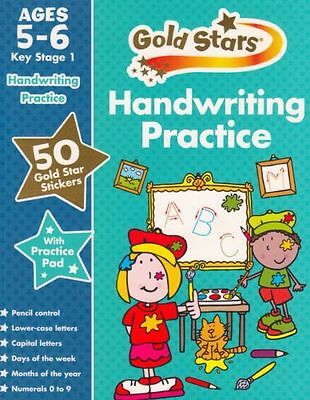 Gold Stars Handwriting Practice Ages 5-6 KS1