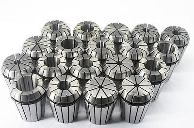 19pcs ER32 SPRING COLLETS SET (Range 2mm-20mm) ER32 Collet Chuck CNC Mill