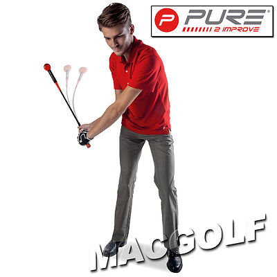 "Pure2improve Golf Trainingshilfe ""Tempo Trainer 48"" Kostenloser Blitzversand"