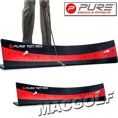 "Pure2improve Golf Trainingshilfe ""Putt_Path"" Kostenloser Blitzversand"