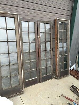 D1 106 Two Sets Available Price Separate Double Door French Door With Sidelight
