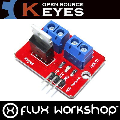 MOSFET 24V Driver Genuine Keyes Module Tube Arduino IRF520N PWM Flux Workshop