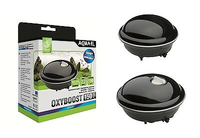AQUAEL Luftpumpe OXYBOOST AP 100 Plus, APR 150 Plus,  Aquarium Membranpumpe