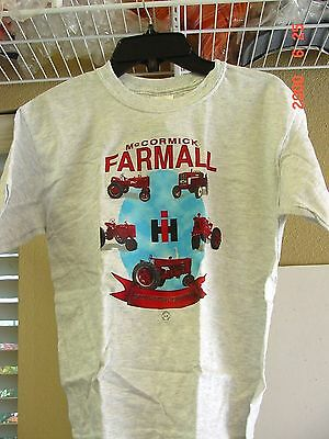 International Harvester Child Youth Tractor T-Shirt , New, Size Small
