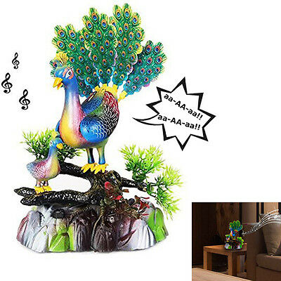 Dazzling Toys Singing Dancing Peacock Set Battery Operated Party Centerpiece