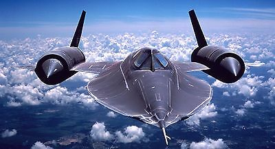 United States Air Force USAF Lockheed SR-71 Blackbird Military Aircraft Photo 5
