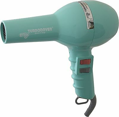 ETI Turbo Hair Dryer AQUA, Professional Salon Quality ETI 2000