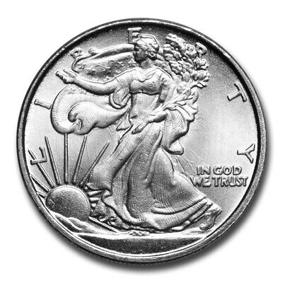 1/10 oz Silver Round - Walking Liberty - SKU #60059