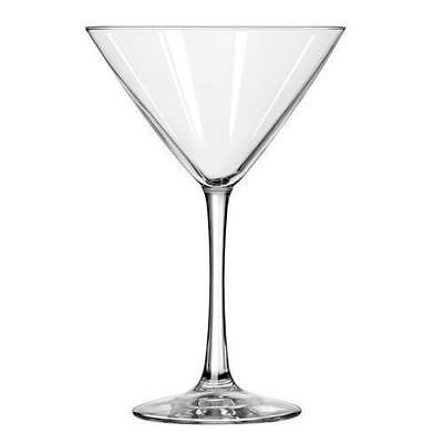 12x Martini Glass, 296mL, Libbey 'Vina', Commercial Glasses / Cocktail / Bar