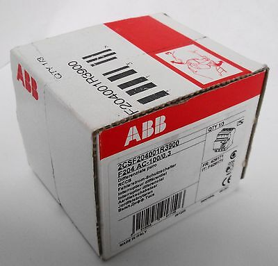 ABB 2CSF204001R3900 Residual Current Device 4P 100A **Factory Sealed Box**