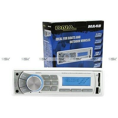 DNA MA4B Marine Bluetooth USB/SD MP3 Player with AM/FM tuner and AUX audio input