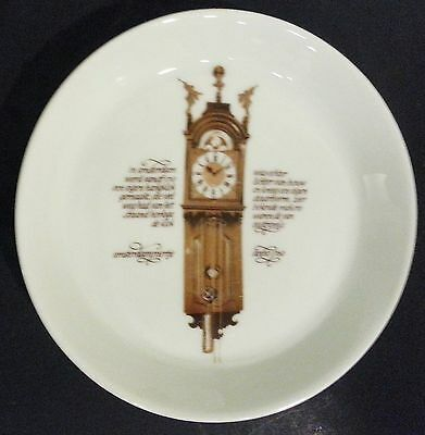 Mitterteich Porzellan Germany 30pc Coffee Set Antique Clock lovers Dishes Plates