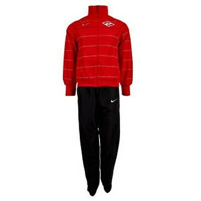 NEW NIKE SPARTAK MOSCOW PLAYER ISSUE - HOOPED TRACKSUIT - 336572 611 - Medium