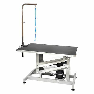 GoPetClub 36 Pet Dog Z-Lift Hydraulic Grooming Professional Table w/Arm HGT-509