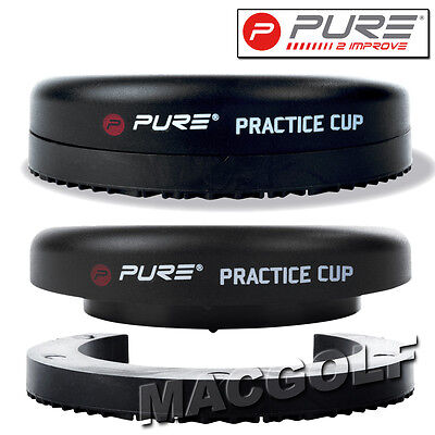 "Pure2improve Golf Trainingshilfe ""Putting Practice Cup"" Kostenloser Blitzversand"