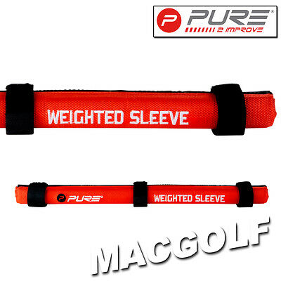 "Pure2improve Golf Trainingshilfe ""Weighted Sleeve"" Kostenloser Blitzversand"