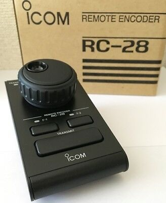 New Icom RC-28 Remote Encoder Corresponding IC-9100/7600/7410/7200  from JAPAN